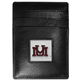 Montana Grizzlies Leather Money Clip/Cardholder Packaged in Gift Box